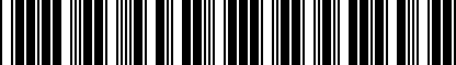 Barcode for 3CN071105