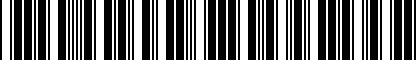 Barcode for 5NL075101
