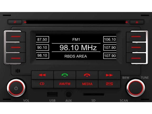 Diagram RMT 100+ MP3 Bluetooth Radio (1JM035157AT) for your 2020 Volkswagen Tiguan